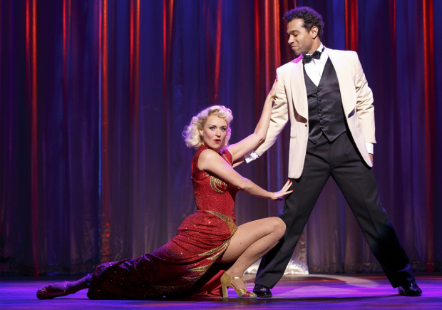 Megan Sikora and Corbin Bleu are Chita Rivera Award nominees for Holiday Inn.