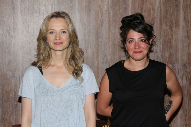 Rachel Chavkin (right) will direct Bess Wohl's Small Mouth Sounds at Long Wharf Theatre this season.