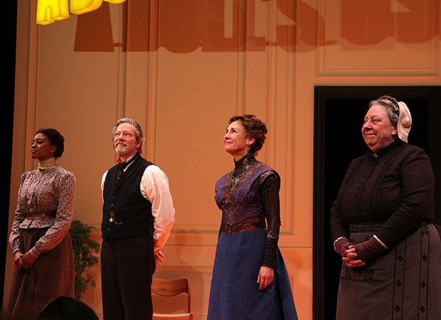 Curtain call at A Doll's House, Part 2.