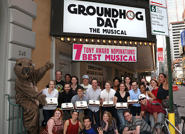 Happy 7 nominations to team Groundhog Day!