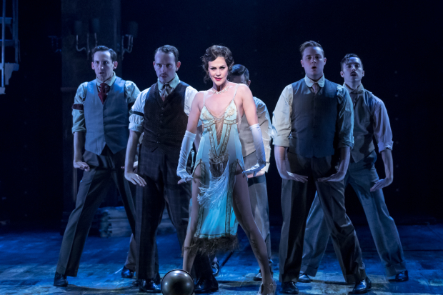A scene from Chicago, directed by William Osetek, at Drury Lane Theatre.