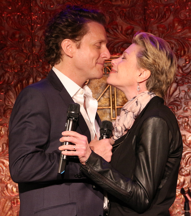 Jason Danieley and Marin Mazzie perform at Feinstein's/54 Below.