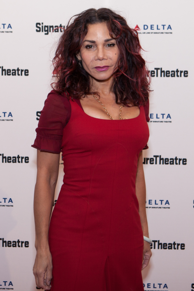 Daphne Rubin-Vega performed at the event.