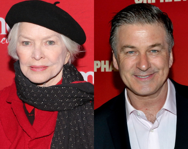 Ellen Burstyn and Alec Baldwin are set for ''All the President's Men?""