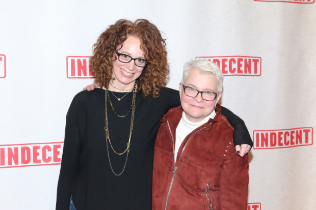 Indecent director Rebecca Taichman and playwright Paula Vogel will speak about their collaboration in post-show talkbacks at the Cort Theatre.