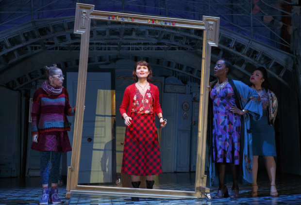 Phillipa Soo as the title character in Amélie at the Walter Kerr Theatre.