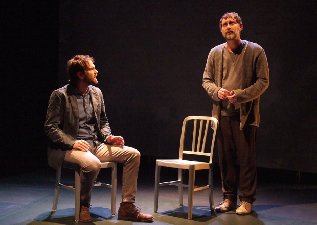 A scene from The House in Scarsdale: A Memoir for the Stage, directed by Michael Michetti, at The Theatre @ Boston Court.
