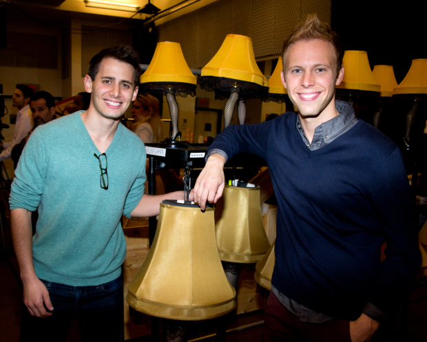 Benj Pasek and Justin Paul will bring leg lamps and A Christmas Story to Fox.