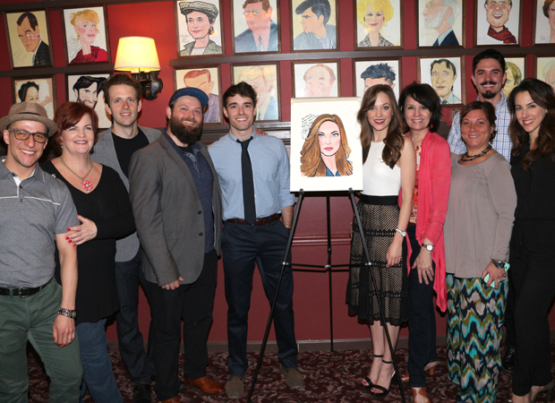 The cast of Bandstand showed up to support costar Laura Osnes.