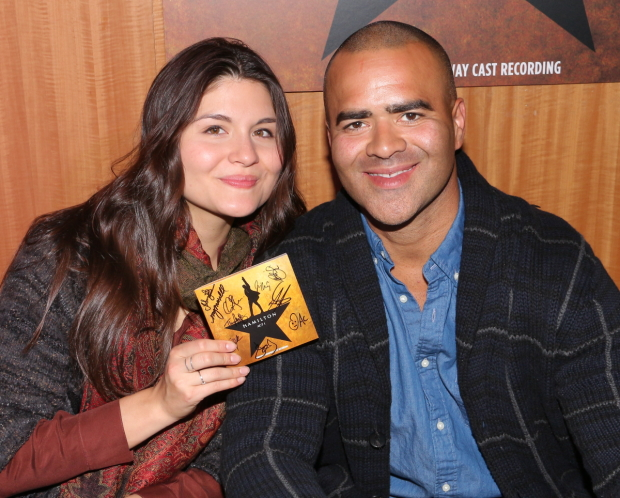 Phillipa Soo and Christopher Jackson will take part in the Public Theater's 2017 gala at the Delacorte Theater.
