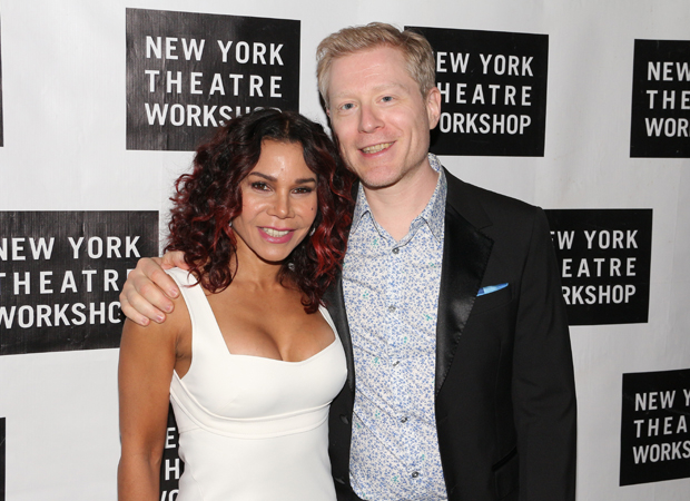 Daphne Rubin-Vega and Anthony Rapp starred in the original production of Rent.