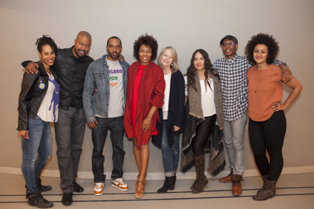 The company of Lincoln Center Theater's Pipeline.