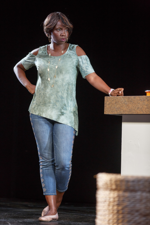 Adepero Oduye plays Iniabasi in Her Portmanteau.
