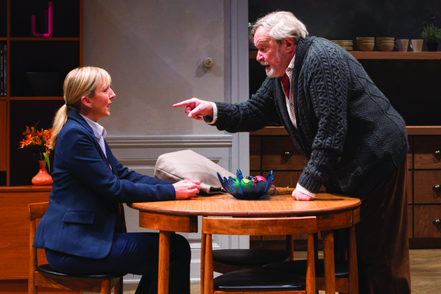 Kate Eastwood Norris and Ted van Griethuysen in The Father, directed by David Muse, at Studio Theatre.
