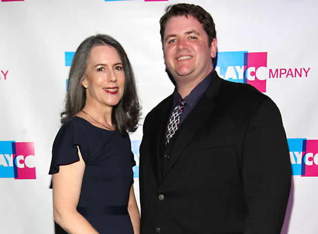 PlayCo's founding producer Kate Loewald with newly instated managing director Robert G. Bradshaw.