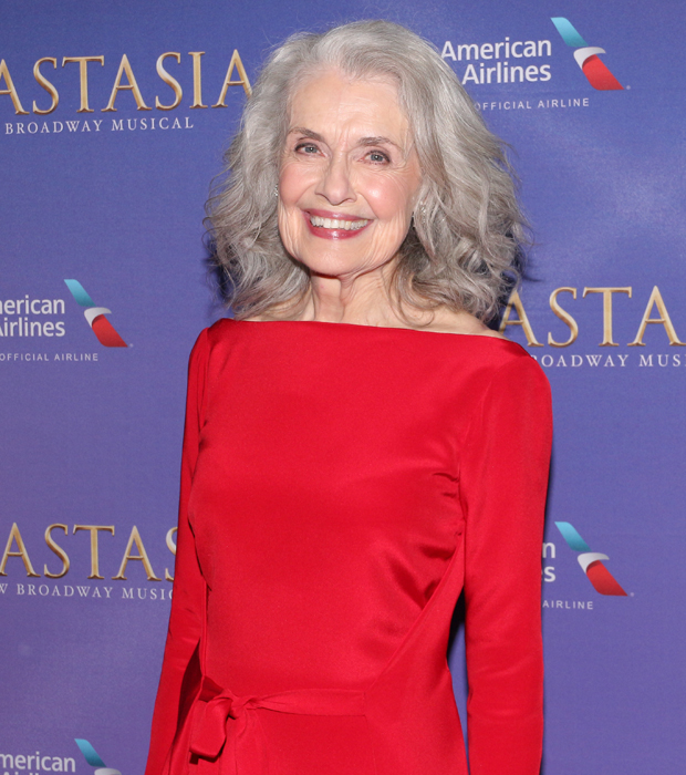 Mary Beth Peil at the opening night party for Anastasia.