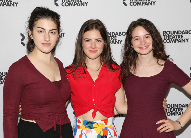 Lilli Kay, Elise Kibler, and Jordyn DiNatale star in Napoli, Brooklyn.