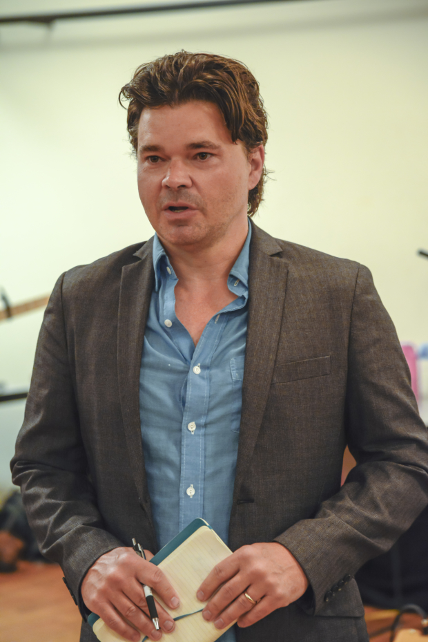 Hunter Foster directs the production.