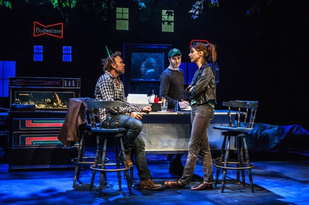 Norbert Leo Butz, Noah Bean, and Dolly Wells star in The Whirligig.