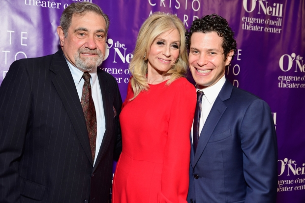 Dan Lauria, Judith Light and Thomas Kail arrive at The Eugene O'Neill Theater Center's Monte Cristo Awards.