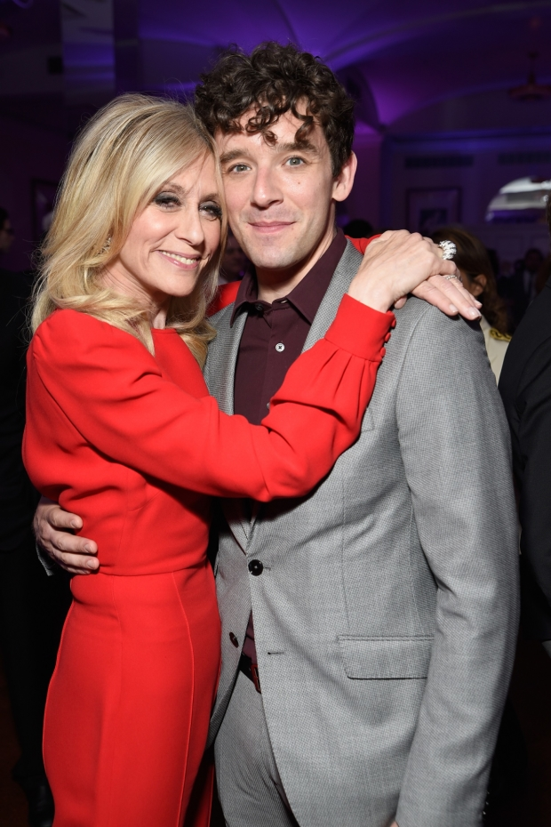 Ugly Betty costars Judith Light and actor Michael Urie were reunited.