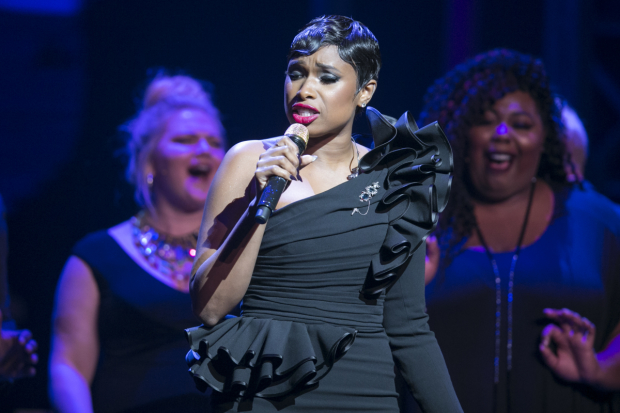Jennifer Hudson performs onstage at the Center Theatre Group 50th Anniversary Celebration at Ahmanson Theatre.