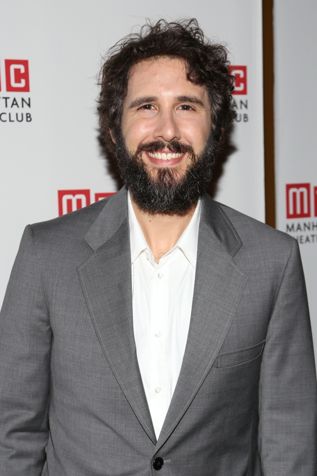 Natasha, Pierre, and the Great Comet of 1812 star Josh Groban performed at Manhattan Theatre Club's annual Spring Gala.