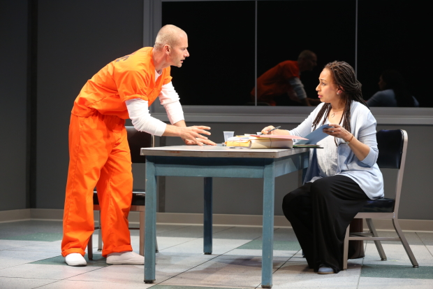 James Badge Dale plays Rick, and Tamara Tunie plays Gloria in Building the Wall.