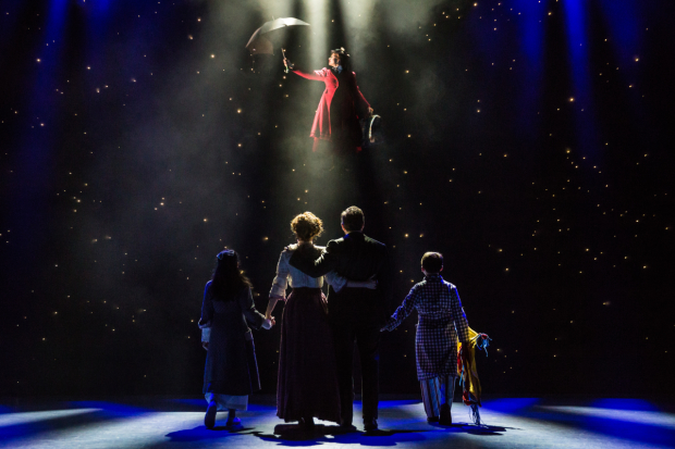 A scene from Mary Poppins, directed by Mark S. Hoebee, at Paper Mill Playhouse.