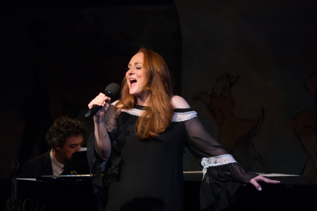 Antonia Bennett leans against the piano and sings in her Café Carlyle debut.