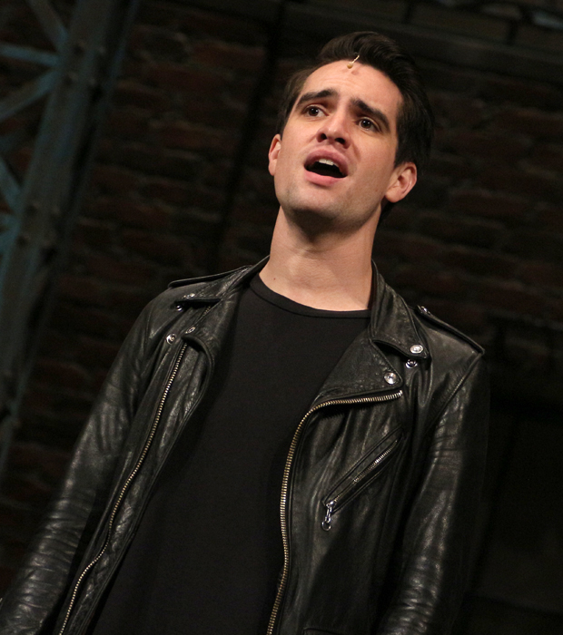 Brendon Urie is the frontman of Panic! At the Disco.