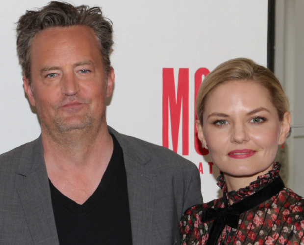 Matthew Perry and Jennifer Morrison star in Perry's The End of Longing.