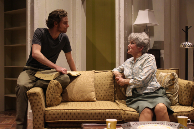 Gregory Boover and Annette Miller star in 4000 Miles at Shakespeare & Company.