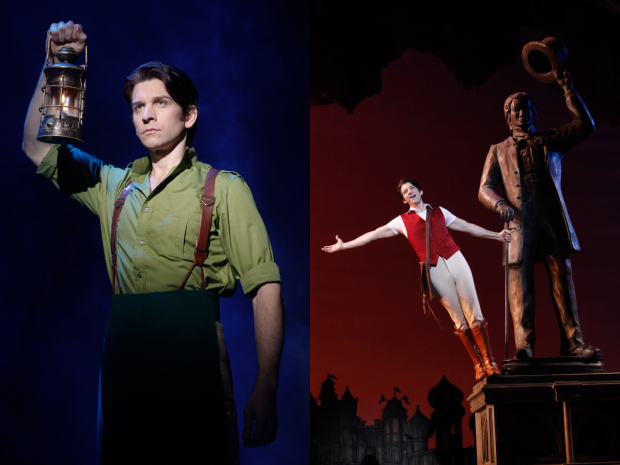 Andy Karl as Fiyero in Wicked.