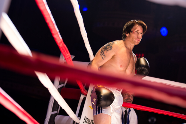 Andy Karl as Rocky in Rocky on Broadway.