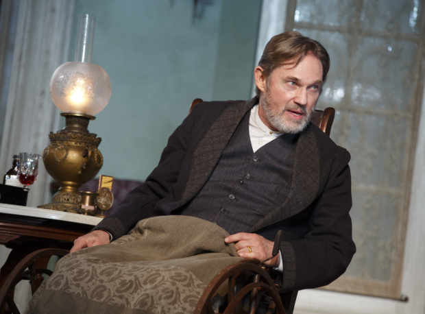 Richard Thomas as Horace Giddens in the MTC revival of Lillian Hellman's The Little Foxes.