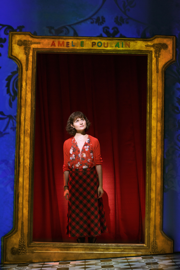 Phillipa Soo in a scene from the recent Broadway musical Amélie.