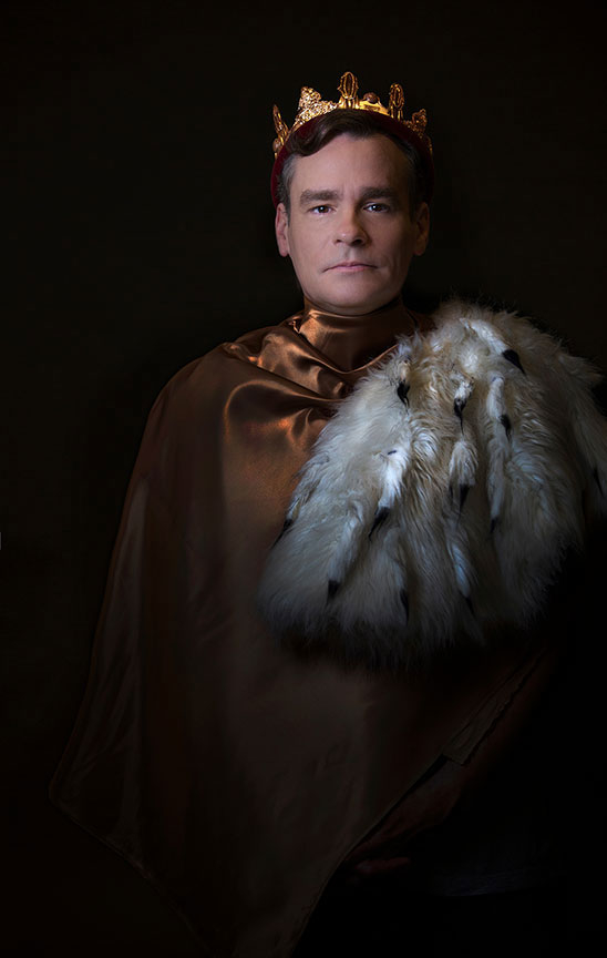 Robert Sean Leonard as Richard II.