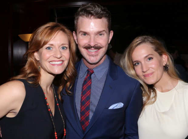 Holiday Inn nominees Megan Sikora, Denis Jones, and Lora Lee Gayer.
