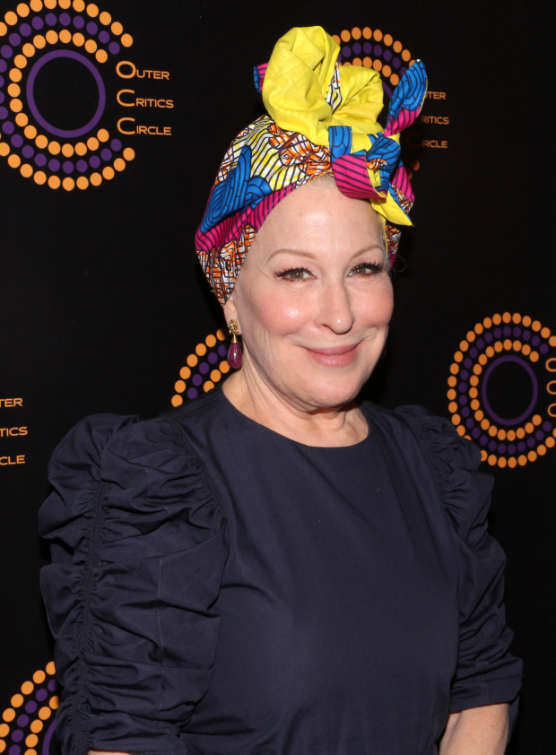 Bette Midler will present at the 2017 Tony Awards.