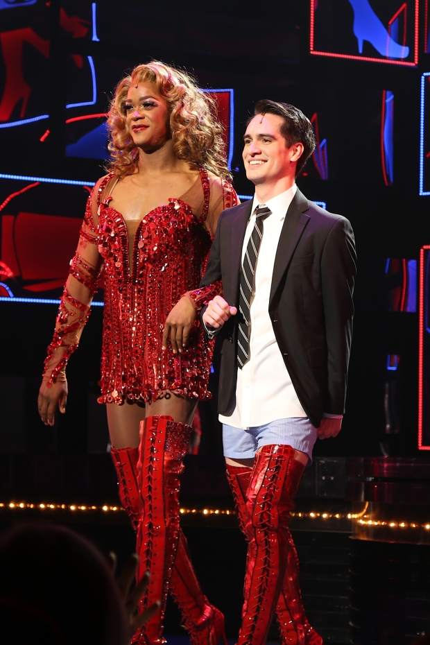 Brendon Urie makes his Broadway debut in Kinky Boots.