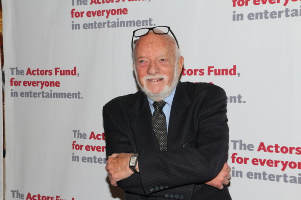 Harold Prince presented the 2017 Drama Desk Awards for Outstanding Musical and Revival of a Musical.