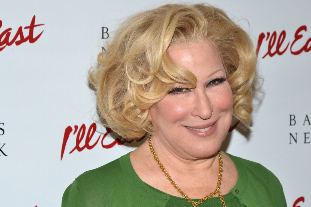 Bette Midler wasn't at the 2017 Drama Desk Awards, but here's a photo of her from 2013, when she starred in I'll Eat You Last on Broadway.