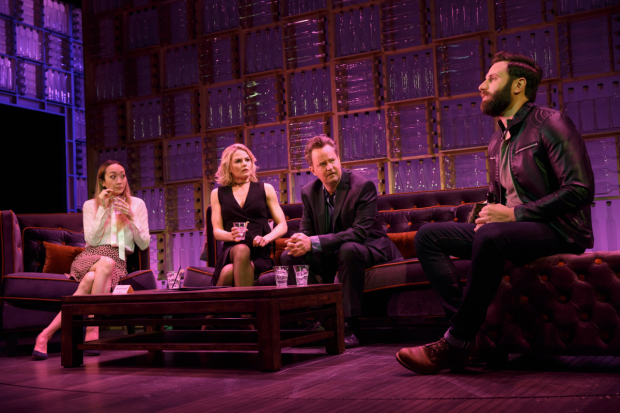 Sue Jean Kim, Jennifer Morrison, Matthew Perry, and Quincy Dunn-Baker star in Perry's The End of Longing, directed by Lindsay Posner, for MCC at the Lucille Lortel Theatre.