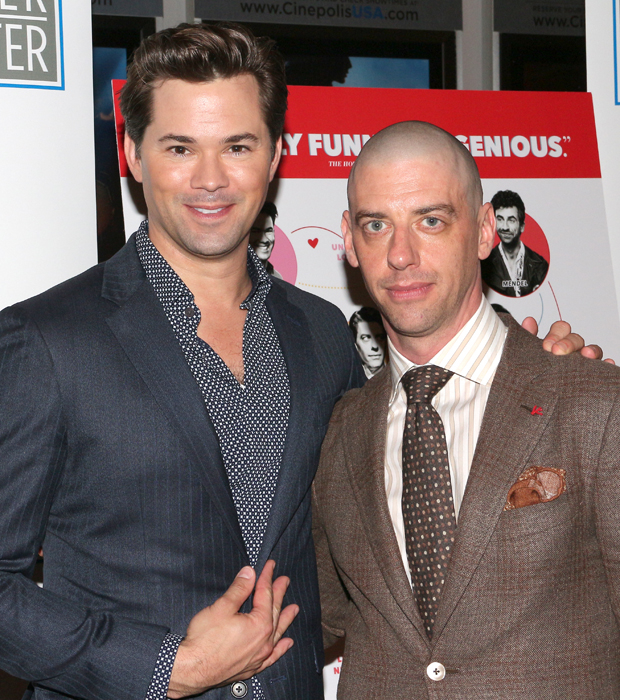 Andrew Rannells and Christian Borle play Whizzer and Marvin.