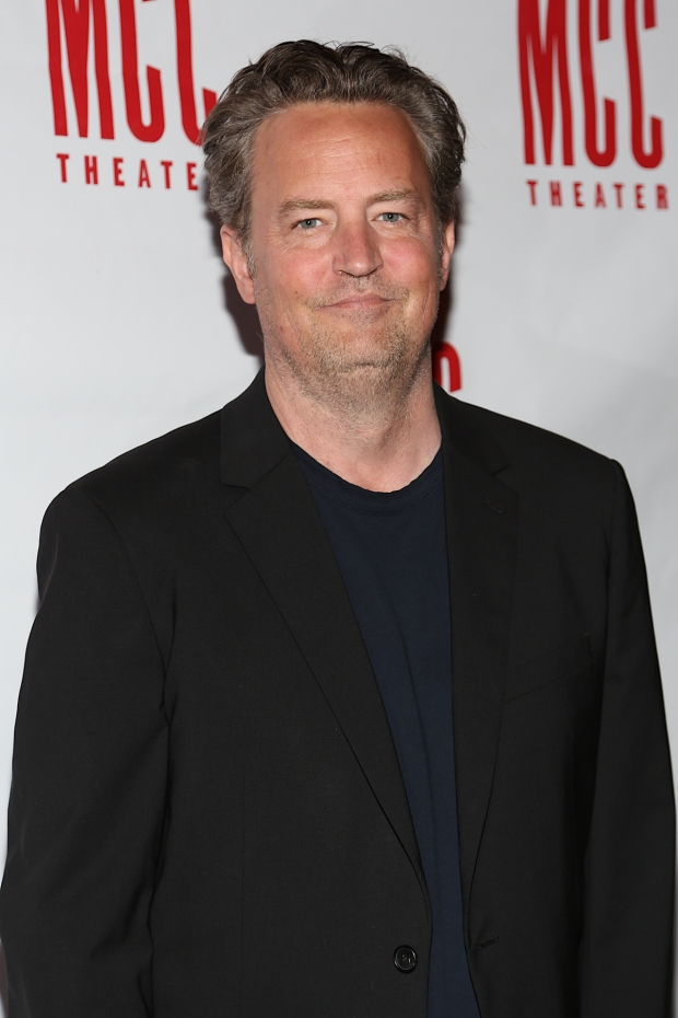 Matthew Perry wrote and stars in The End of Longing, directed by Lindsay Posner, at the Lucille Lortel Theatre.