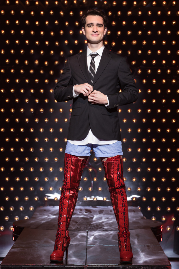 Panic! At The Disco's Brendon Urie makes his Broadway debut in Kinky Boots.