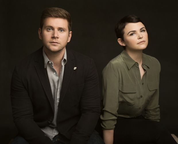 Allen Leech and Ginnifer Goodwin star in Constellations, directed by Giovanna Sardelli, at the Geffin Playhouse.