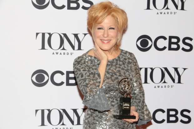 Hello, Dolly!'s Bette Midler wins the Tony Award for Best Leading Actress in a Musical.