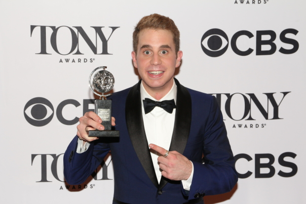 Ben Platt of Dear Evan Hansen is the 2017 Tony Award winner for Best Performance by a Leading Actor in a Musical.